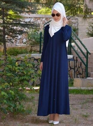 Salaş Elbise - Lacivert