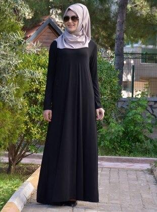 Salaş Elbise - Siyah