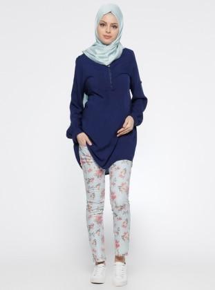 Even Fashion Hamile Pantolon - Mavi