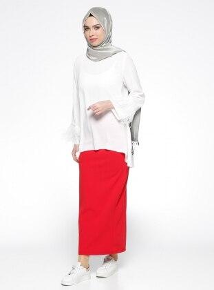 Kalem Etek - Kırmızı Belle Belemir