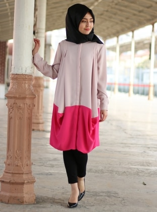 Lovely Tunik - Pudra Pembe