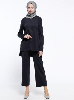 Bluz&Pantolon İkili Takım - Lacivert ALLDAY