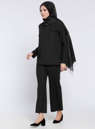 Bluz&Pantolon İkili Takım - Siyah ALLDAY