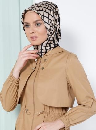 İpek Eşarp - Karışık Renkli - Kayra Eşarp, Kayra