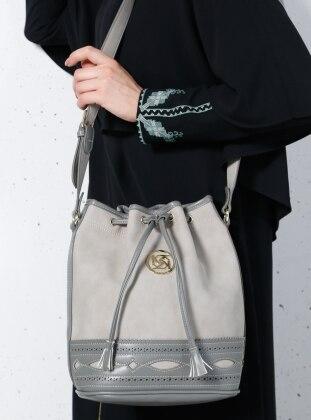 Çanta - Açık Gri Kayra