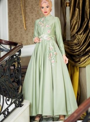 Kamelya Abiye Elbise - Çağla Zehrace