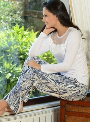 Pijama Takımı - Beyaz