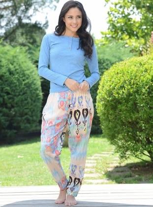 Pijama Takımı - Mavi