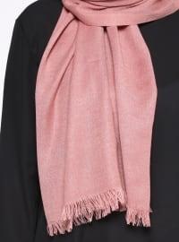 Pink - Plain - Pashmina - Shawl