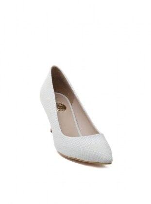 Abiye Ayakkabı - Beyaz