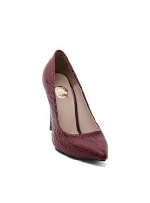 Abiye Ayakkabı - Bordo