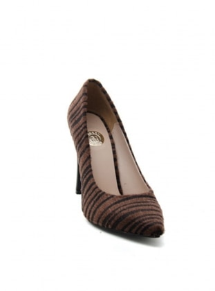 Abiye Ayakkabı - Kahverengi