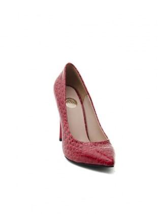 Abiye Ayakkabı - Kırmızı