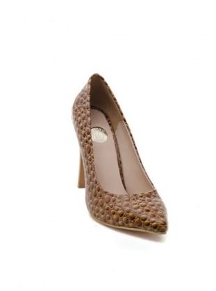 Abiye Ayakkabı - Taba