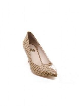 Abiye Ayakkabı - Vizon