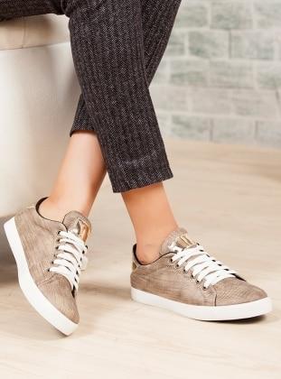 Ayakkabı - Haki Ayakkabı Havuzu