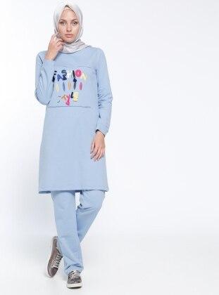 Eşofman Takımı - Bebe Mavisi Bwest