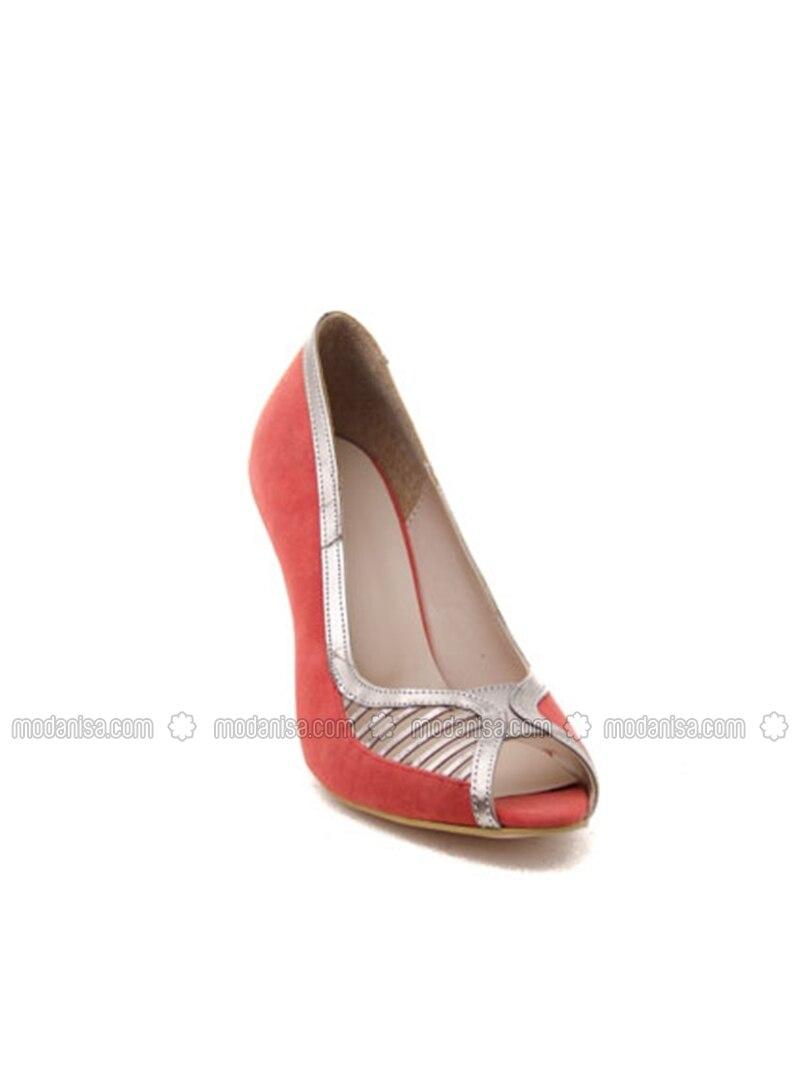 coral high heel evening shoes ayakkab箟 havuzu