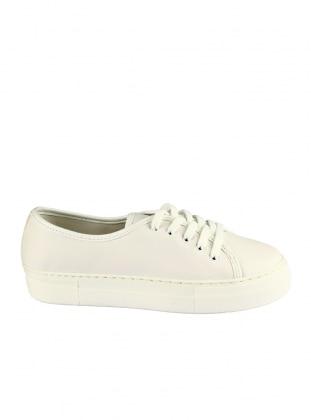 ayakkabı - beyaz- zenneshoes