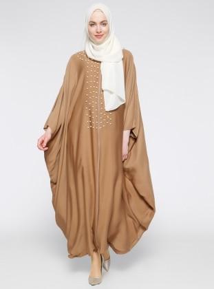 İncili Salaş Abaya - Camel