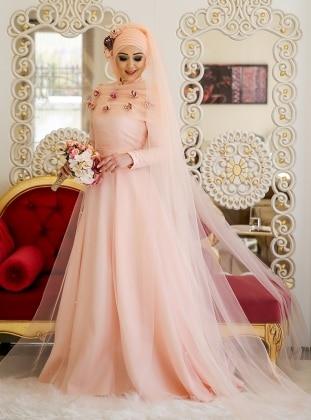 Lara Abiye Elbise - Somon