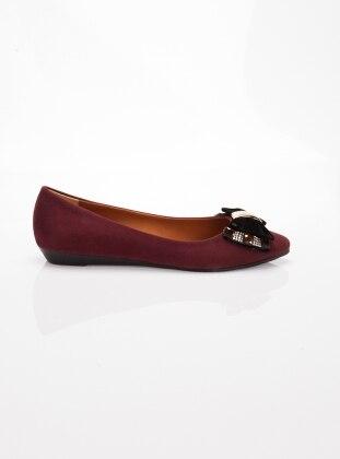 Babet - Bordo Ayakkabı Havuzu