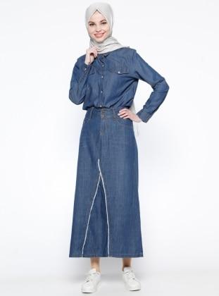 Kot Etek - Mavi