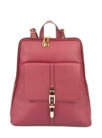 Çanta - Bordo - Housebags