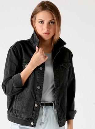 Kot Ceket - Siyah