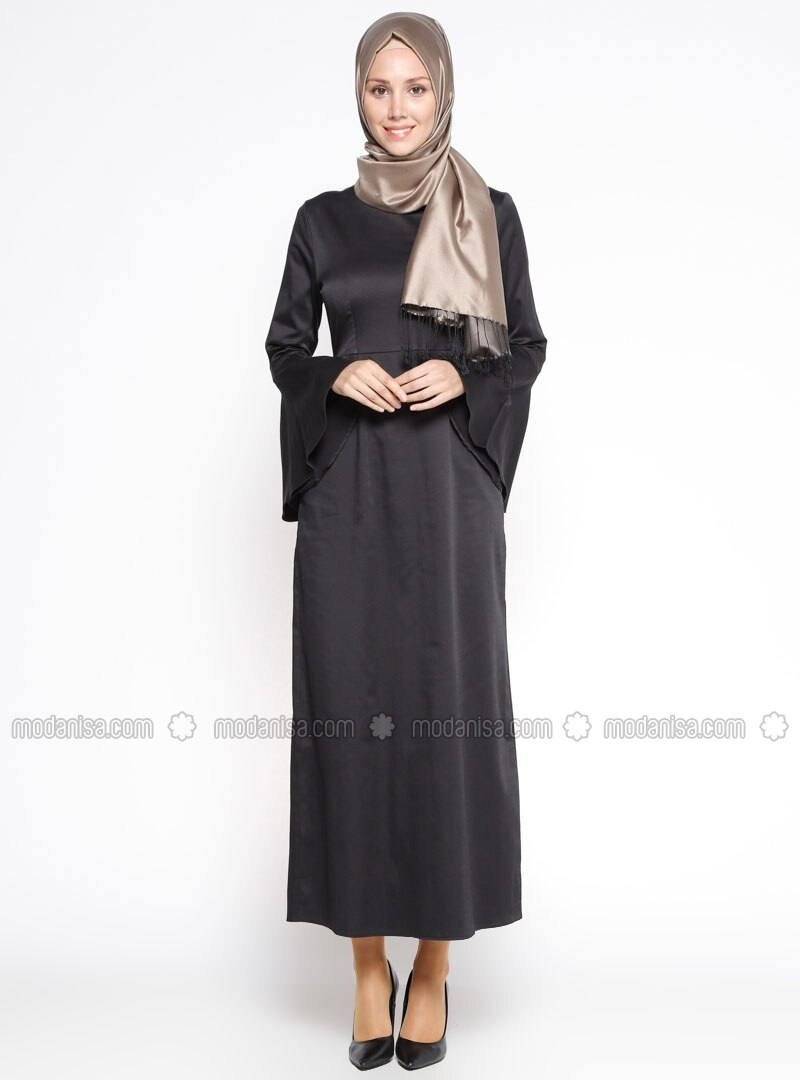 Black - Unlined - Dress