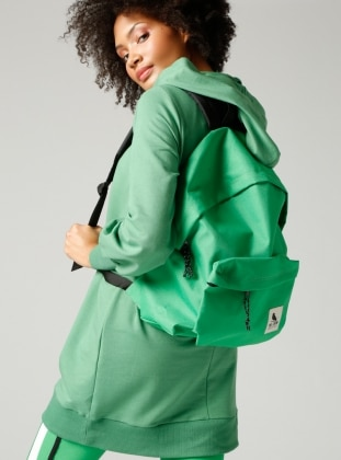 Green - Backpack - Bag