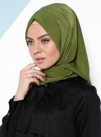 Şal Eşarp - Kına Yeşili - CŞK UNİQUE
