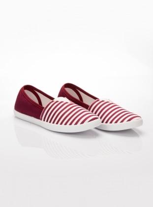 Ayakkabı - Bordo