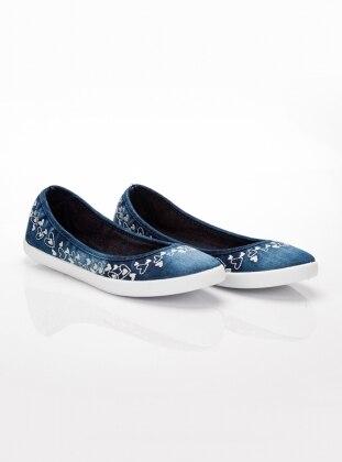 Ayakkabı - Kot Mavi
