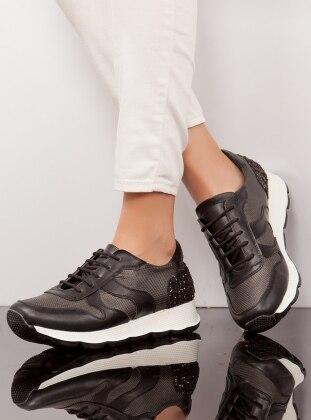 Ayakkabı - Siyah Ayakkabı Havuzu