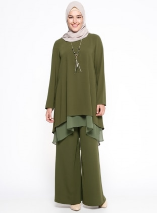 Tunik&Pantolon İkili Takım - Yeşil