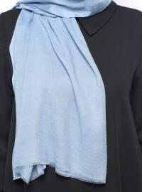 Viscose - Plain - Blue - Shawl