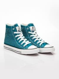 Spor Ayakkabı - Mavi - Ayakkabı Havuzu