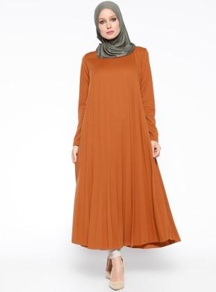 Piliseli Tunik - Camel