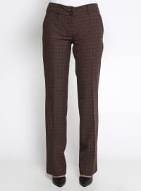 Brown - Multi - Pants