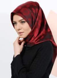 Armine Eşarp Leopar Desenli Eşarp - Karışık Renkli - Armine Eşarp