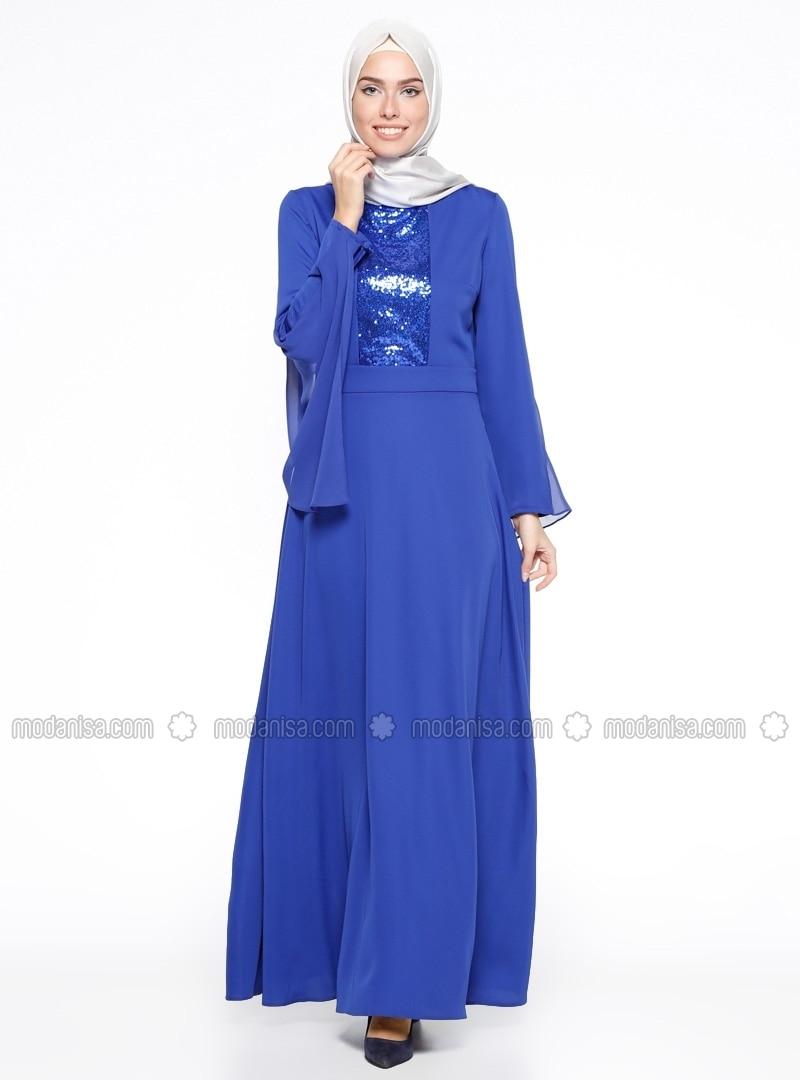 Related pictures armine tak elbise tesett abiye modelleri - Payetli Elbise Saks Armine