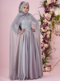Perin Abiye Elbise - Mint Yeşili - Minel Aşk