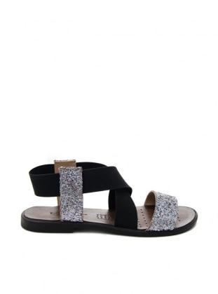 Sandalet - Gümüş Ayakkabı Havuzu