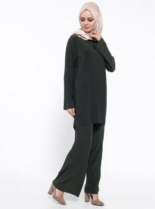 Tunik&Pantolon İkili Takım - Haki Belle Belemir