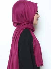 Purple - Plain - Shawl