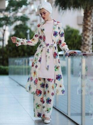 Bahar Ceket - Fuşya Selma Sarı Design