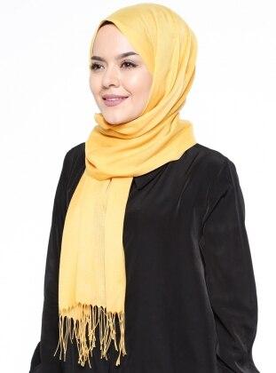 Özsoy İnce Şal - Sarı