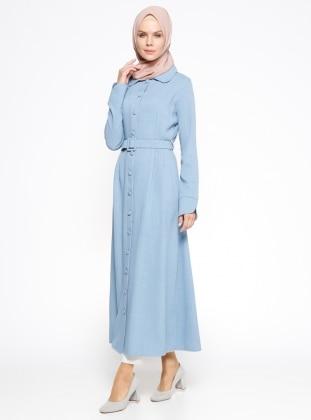 Kemerli Pardesü - Mavi