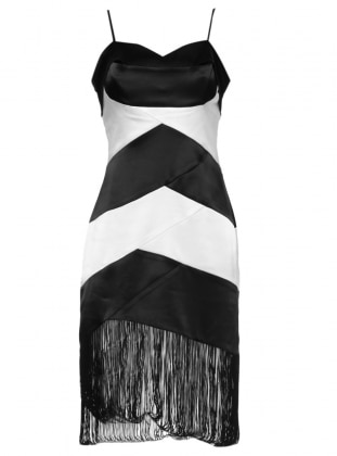 Kısa Abiye Elbise - Siyah Mileny